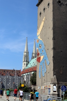 Blick zurück nach Deutschland