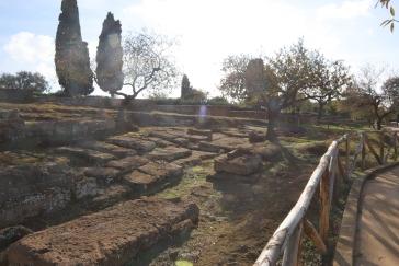 Gräber im antiken Agrigent